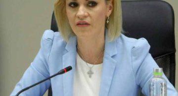 Conditia Gabrielei Firea pentru autorizarea mitingului Federatiei Romanilor de Pretutindeni: Să se pună capăt acuzațiilor și jignirilor proferate în spațiul public la adresa mea