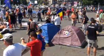 VIDEO. Proteste Violente În Piața Victoriei!