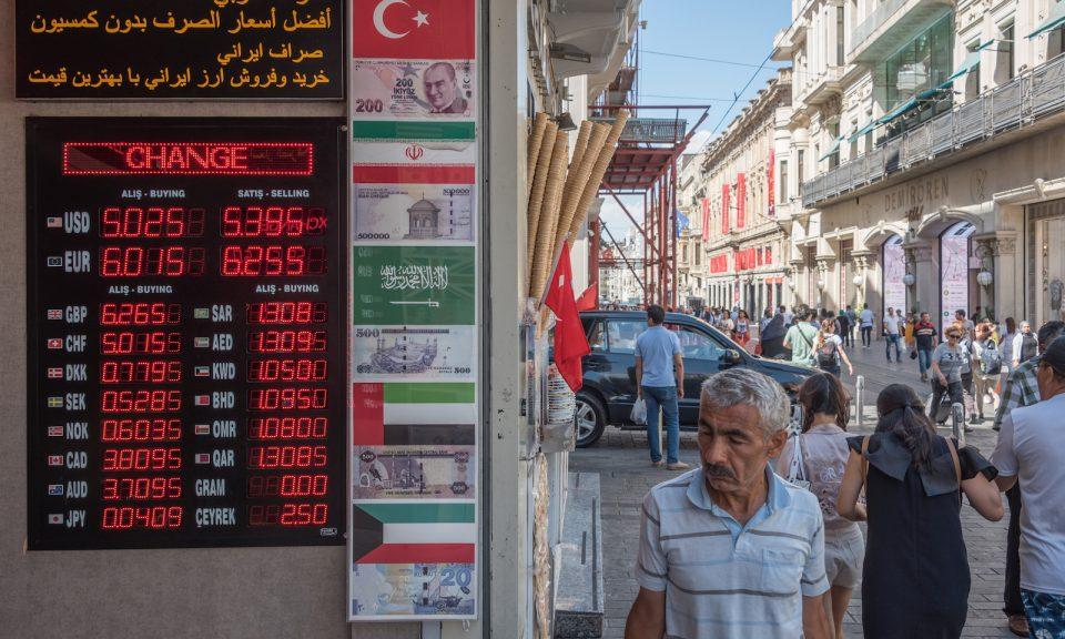 turcia rata valutară