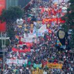 Proteste masive în Brazilia împotriva lui Bolsonaro